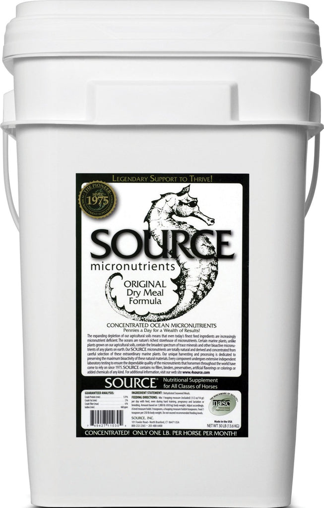 Source Inc - Source Original Micronutrient For Horses