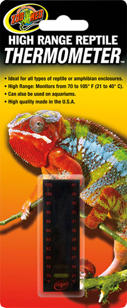 Zoo Med Laboratories Inc-High Range Reptile Thermometer