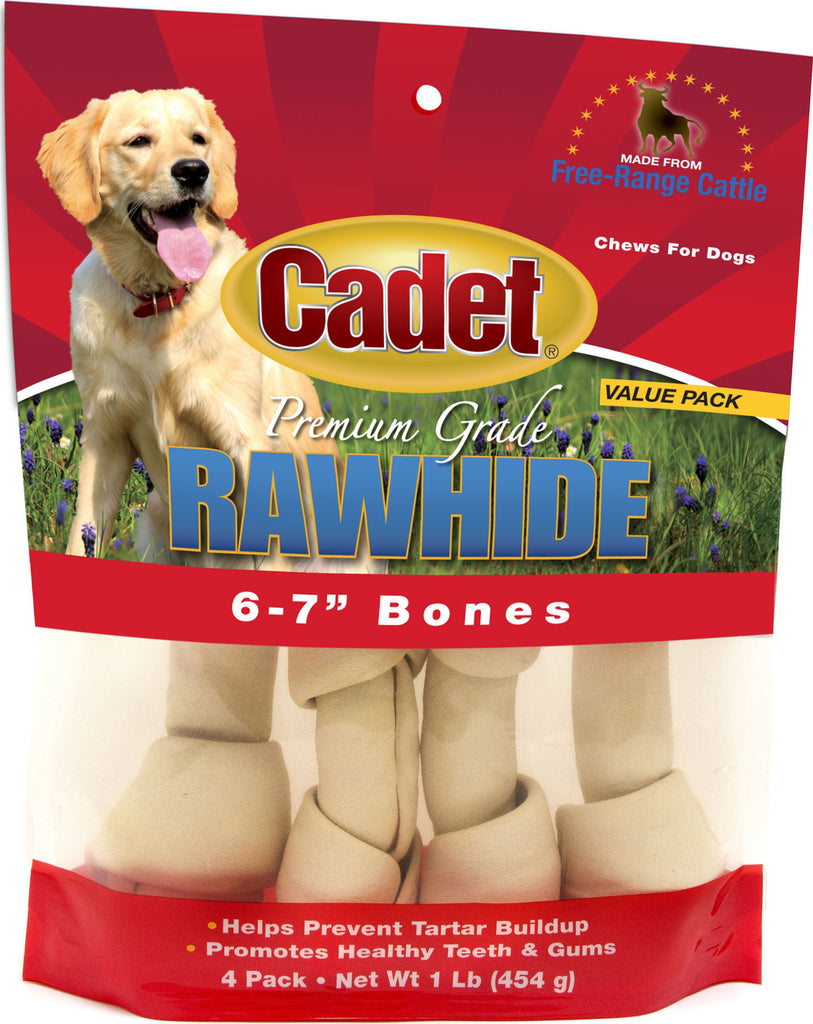 Ims Trading Corporation - Rawhide Knotted Bone 6-7in Value Pack