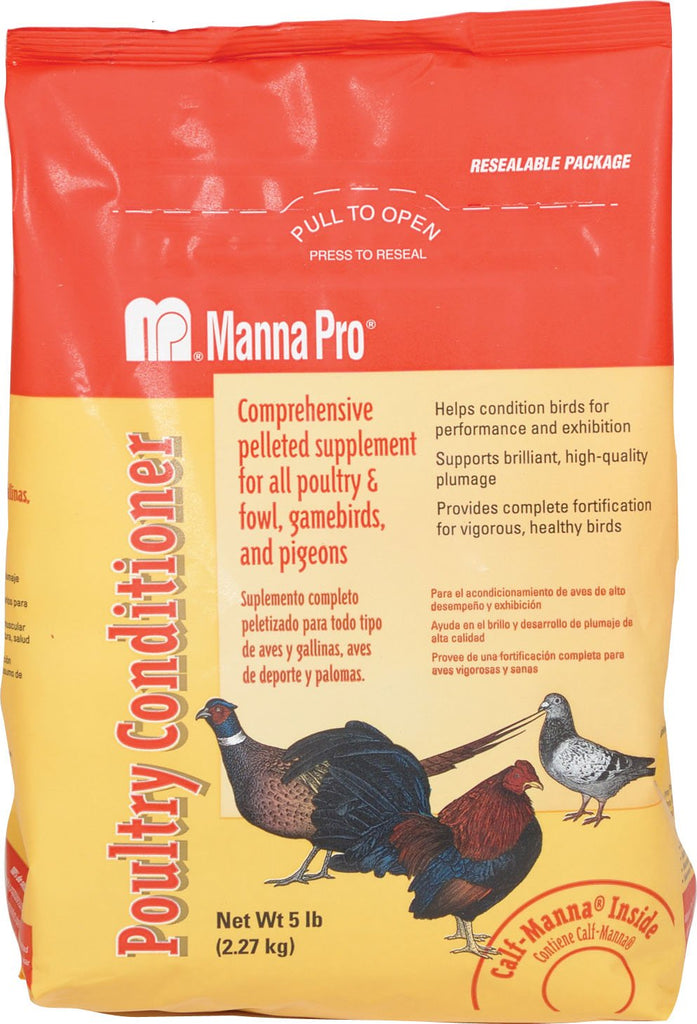 Manna Pro-feed And Treats - Poultry Conditioner Pelleted Supplement