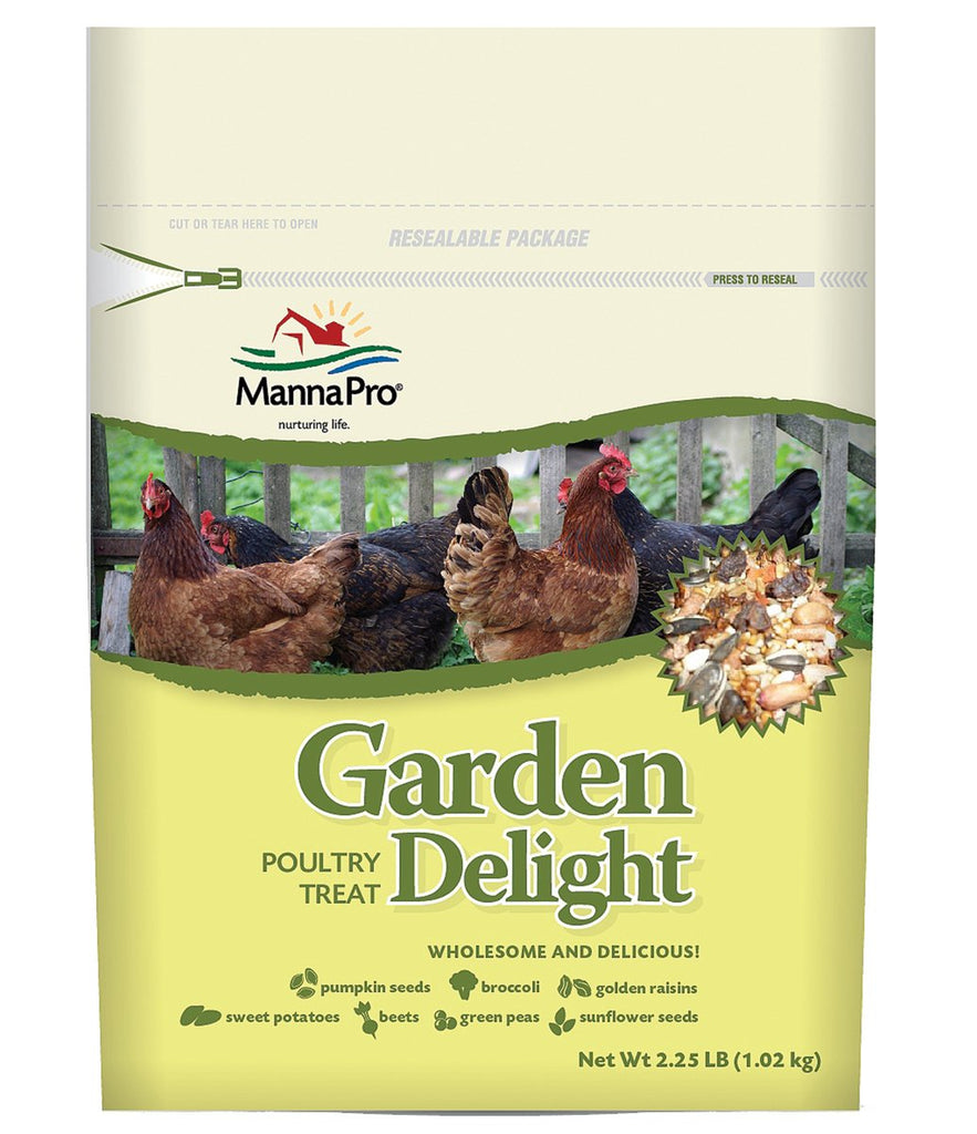 Manna Pro-feed And Treats - Garden Delight Poultry Treat