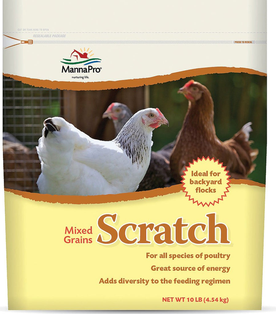 Manna Pro-feed And Treats - Scratch Mixed Grains For Poultry