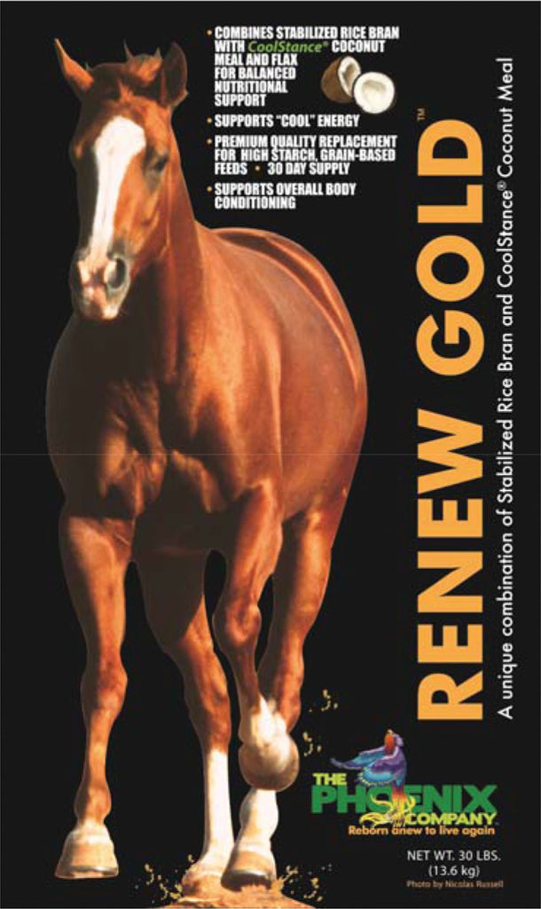 Manna Pro-max-e-glo Rice - Renew Gold Nutritional Supplement For Horses