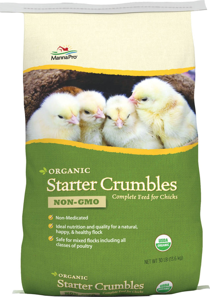 Manna Pro-feed And Treats - Organic Starter 19% Crumbles