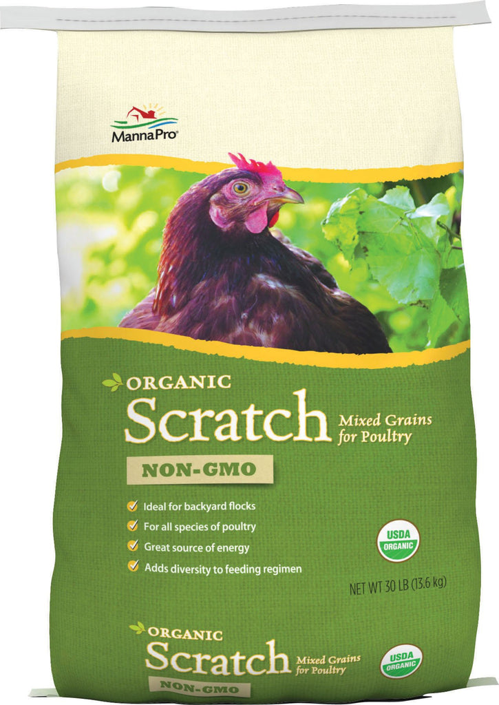 Manna Pro-feed And Treats - Organic Scratch Feed