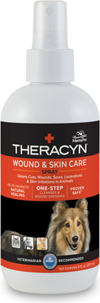 Manna Pro-packaged - Theracyn Wound & Skin Care Spray- Pet