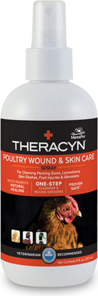 Manna Pro-packaged - Theracyn Poultry Wound & Skin Care Spray
