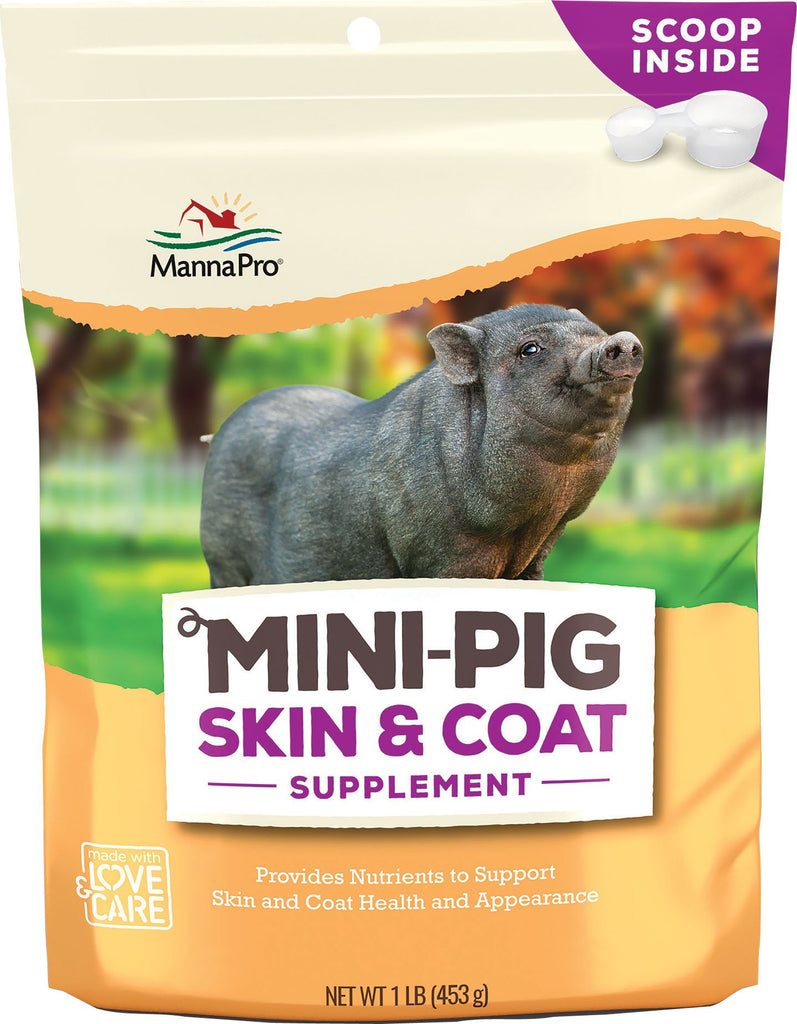 Manna Pro-feed And Treats - Manna Pro Mini-pig Skin & Coat Supplement