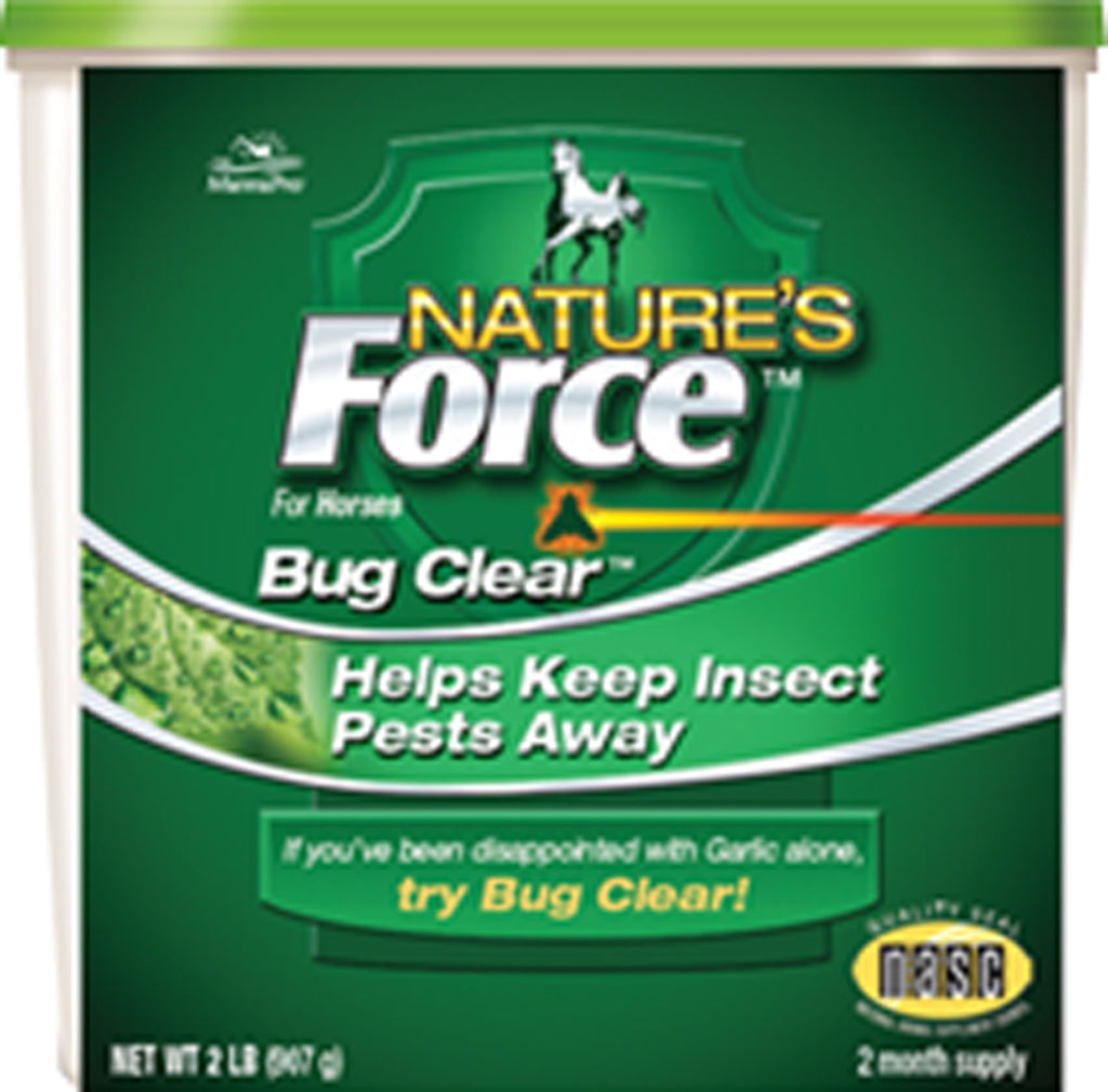 Manna Pro - Fly - Nature's Force Bug Clear Feed Supplement
