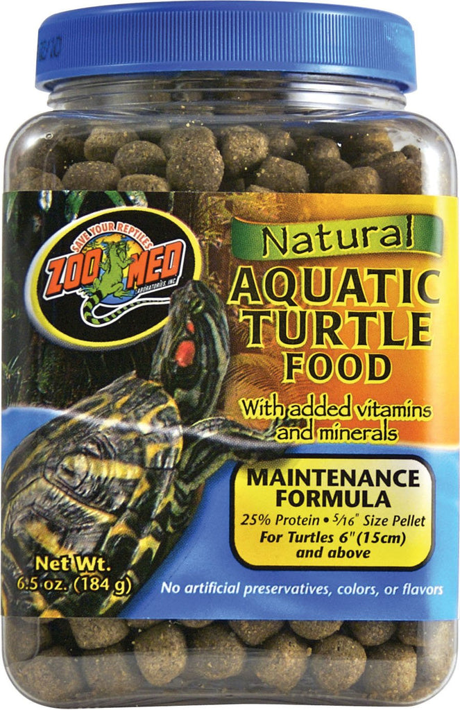 Zoo Med Laboratories Inc - Natural Aquatic Turtle Food - Maintenance Formula