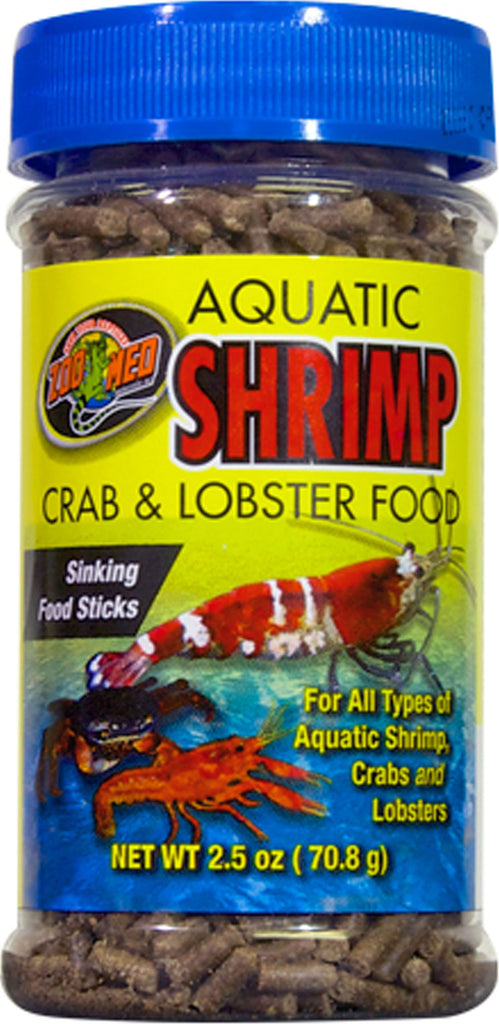 Zoo Med Laboratories Inc - Aquatic Shrimp Crab And Lobster Food