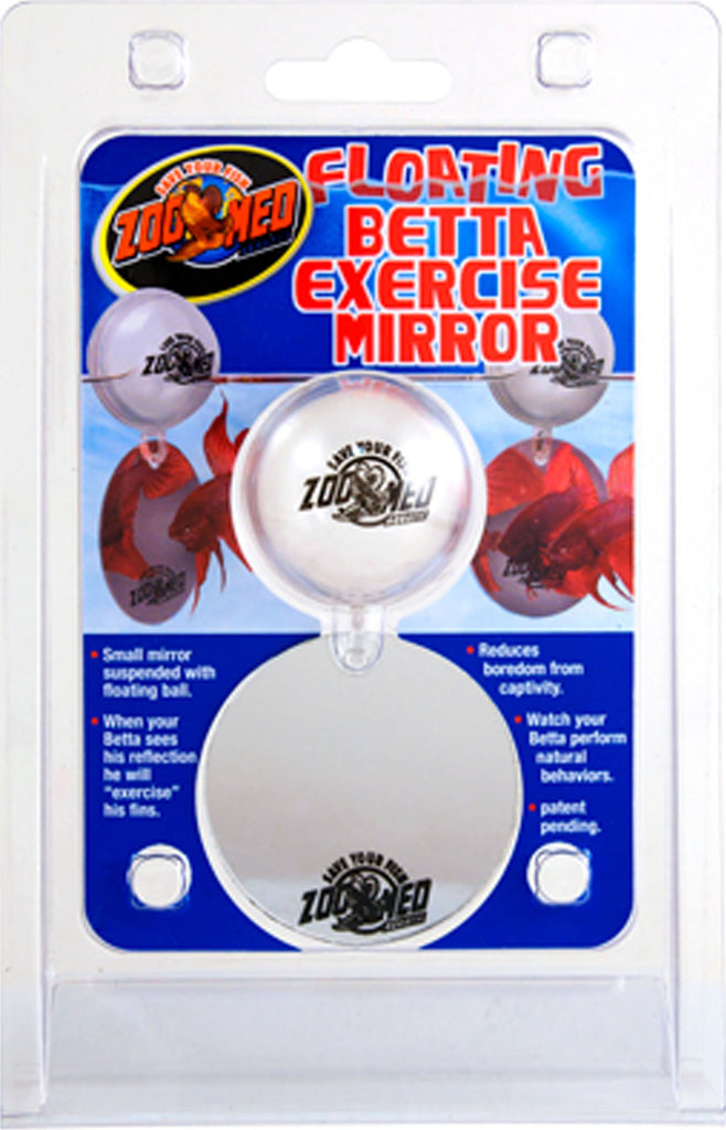 Zoo Med Laboratories Inc - Floating Betta Exercise Mirror