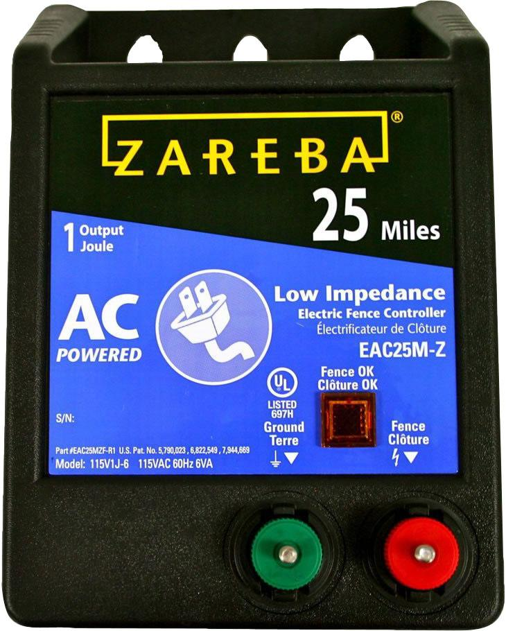 Woodstream Zareba - Zareba 25mi Ac Low Impedence Energizer