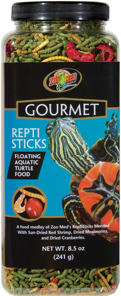 Zoo Med Laboratories Inc - Gourmet Reptisticks Floating Aquatic Turtle Food