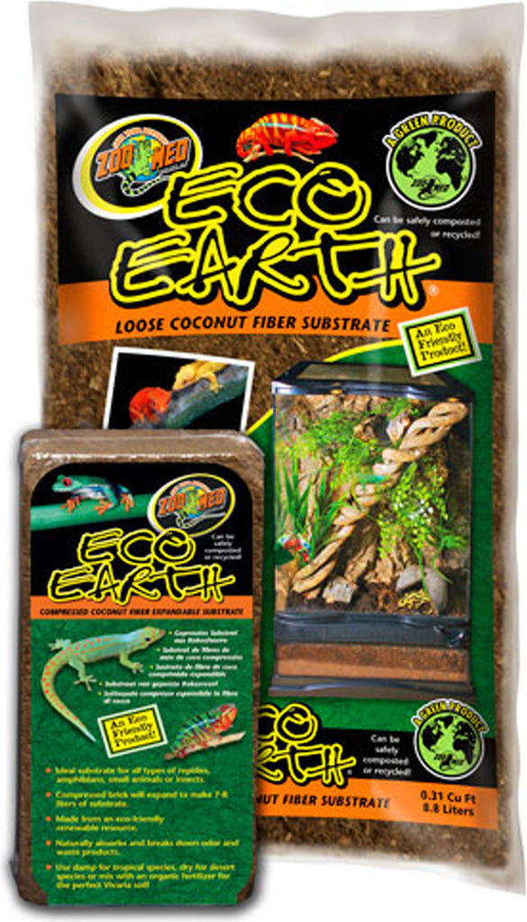 Zoo Med Laboratories Inc - Eco Earth Loose Coconut Fiber Substrate