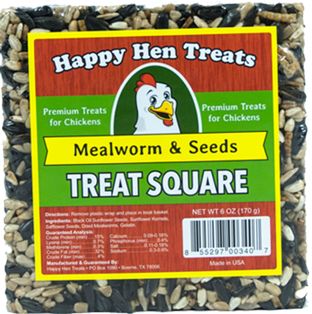Durvet - Happy Hen    D - Treat Square Mlw/seed