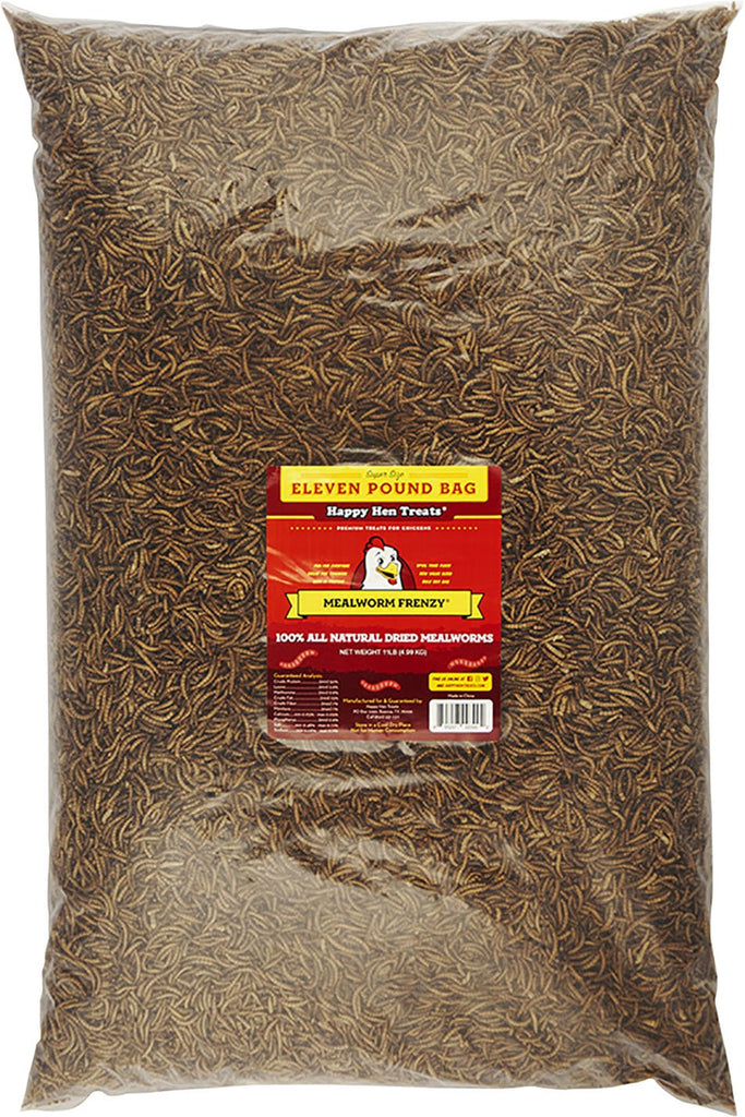 Durvet - Happy Hen    D - Mealworm Frenzy Chicken Treats