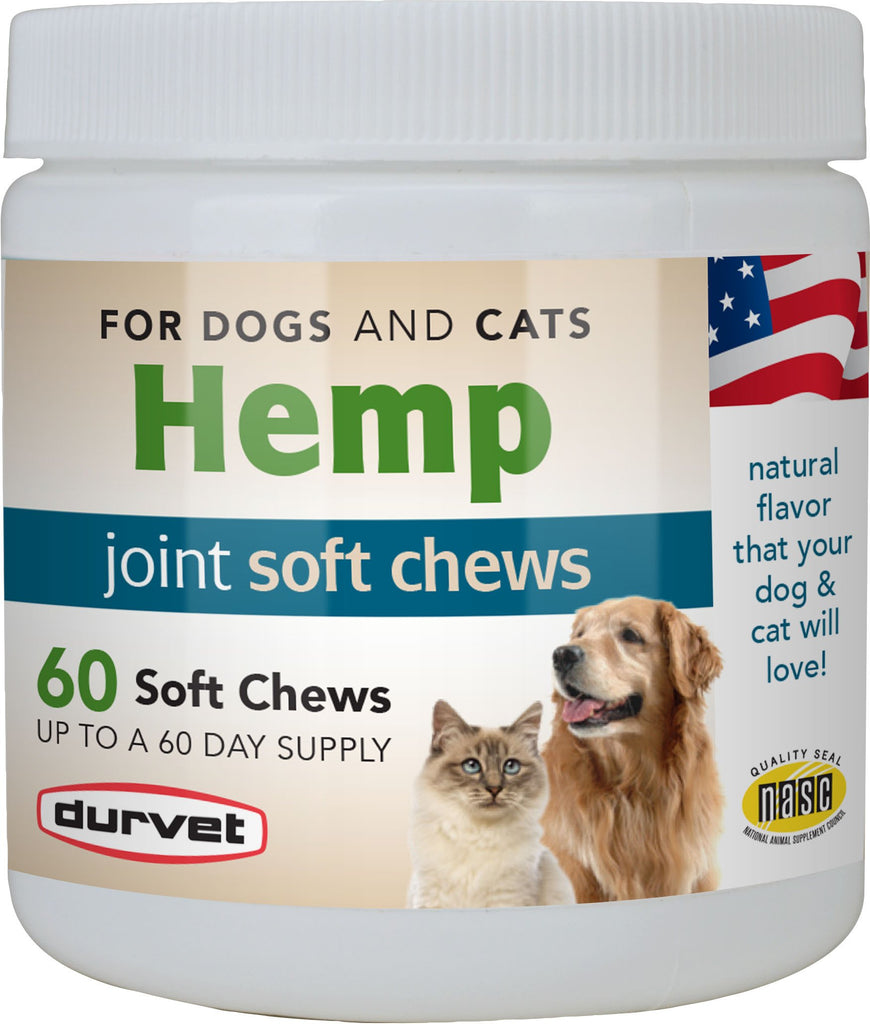 Durvet - Pet            D - Hemp Joint Soft Chews