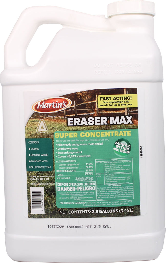 Control Solutions Inc - Martin's Eraser Max Super Concentrate Herbicide (Case of 4 )