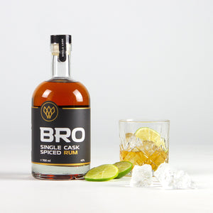 BRO RUM gift box with FREE glass