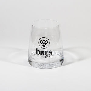 BRO's gin Glass
