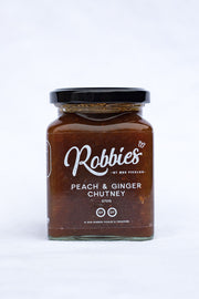 Robbies - Peach & Ginger Chutney