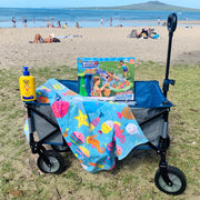 Kids Beach Pack - Beach Trolley Set with slide