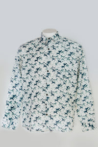 Men's Shirts Deer Block Print
