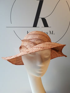 Streetstyle Summer hat in Straw