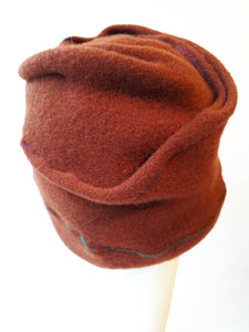 Boiled-Wool warm Cap for Winter
