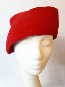 Elegant felt-Hat for Winter