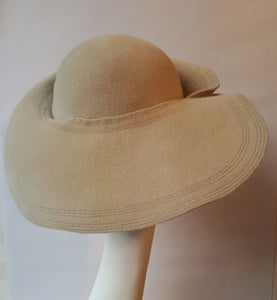 Winter Felt Hat, elegant