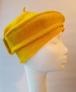 Bright boiled Wool Cap for Winter