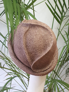paper small brim hat for summer