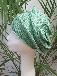 Silk turban for rainy Summer