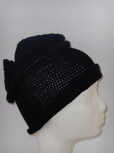 Soft unique piece of a Winter Turban in Cashemere/Wool