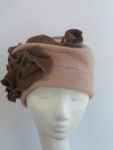 Cap for Winter in Boiled Wool