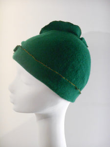 Winter Cap in Boiled Wool, very warm