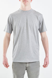 Hawkers Worn Crew - Grey Marl