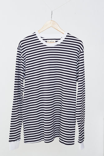 Fisherman Longsleeve - Sailor stripe