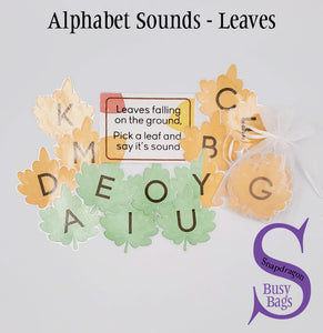 Alphabet Sounds - Leaves