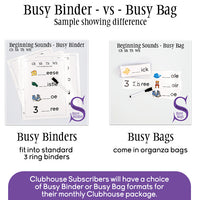 First Then - Busy Binder