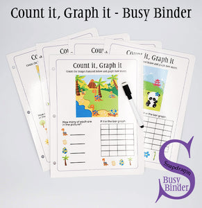Count it, Graph it - Busy Binder