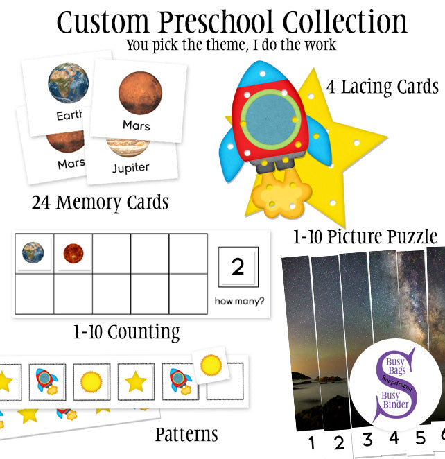 Custom Preschool Collection