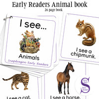 Early Readers - Animal Book