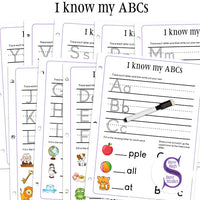 I know my ABCs - binder