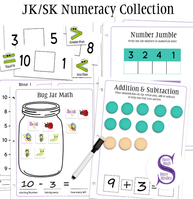 JK/SK Numeracy Collection