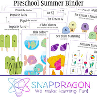 Preschool Summer Collection - Binder