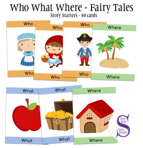 Who What Where - Fairy tale