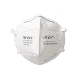 3M 9501+ Respirator ear loop package of 50